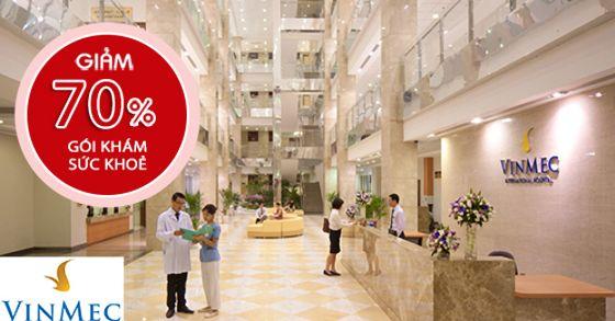 [Bệnh viện Đa khoa Quốc tế Vinmec] Tặng 70% gói khám sức khỏe tổng quát tại bệnh viện Vinmec